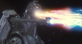 Super MechaGodzilla firing the Mega-Buster Ray and the Garuda's cannons.png