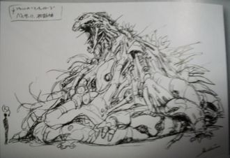 Concept art of Berserk