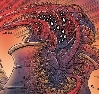 The Nuclear Reactor Demon in Godzilla in Hell #1