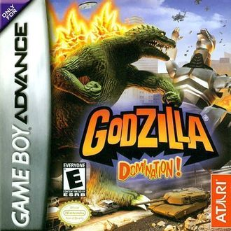 Godzilla: Domination! Box Art