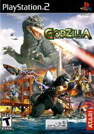Godzilla: Save the Earth Box Art