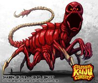 Red returns in Colossal Kaiju Combat
