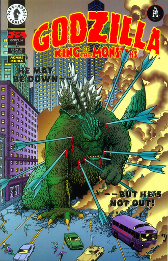 Cover of issue #7 by Arthur Adams and Kevin Maguire