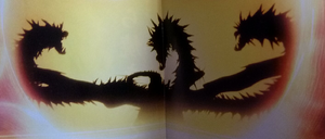 Anime ghidorah silhouette.png