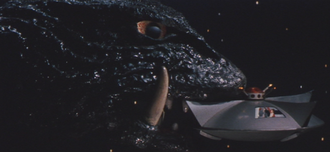 A Terran UFO in Gamera vs. Guiron