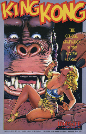 The cover of issue #1 by Dave Stevens
