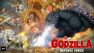 Key art for Godzilla Defense Force
