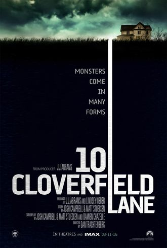 American 10 Cloverfield Lane poster