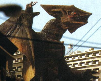 Super Gyaos in Gamera: Guardian of the Universe
