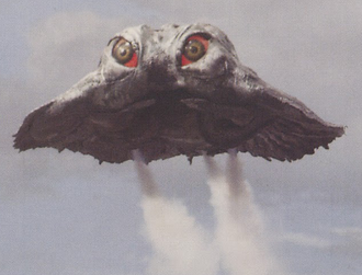 Flying Stage Hedorah in Godzilla vs. Hedorah