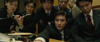 A group of humans in Shin Godzilla