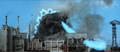 Godzilla SoshingekiGoji Destroys New York with Atomic Breath in 1999 DAM Destroy All Monsters.png