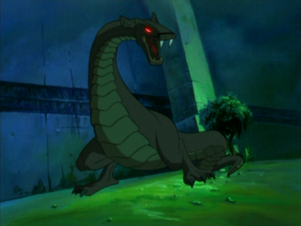 Two-Legged Lizard, a Cyber-Link Mutant, in Kong: The Animated Series