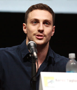 Aaron Taylor-Johnson in Comic-Con 2013