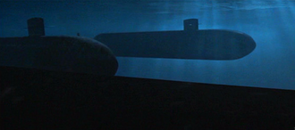 Ohio Class Nuclear-Powered Submarines in GODZILLA (1998)