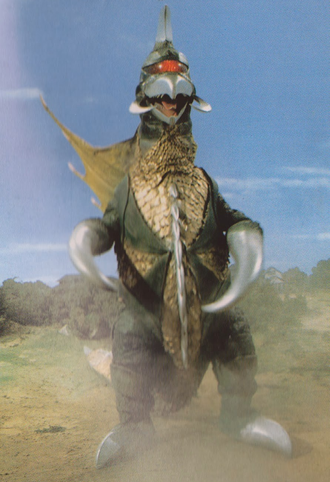 Gigan in Zone Fighter