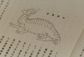 GMK - Ancient Drawing Baragon.png