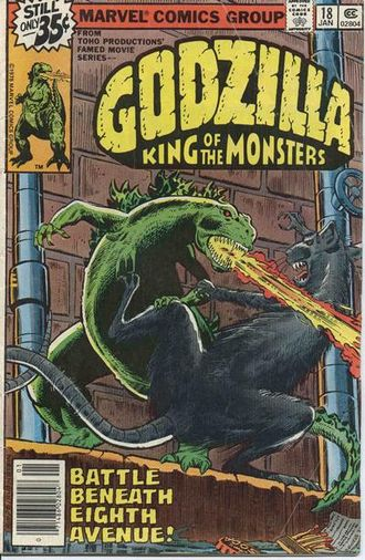 Cover of issue #18 by Herb Trimpe and Joe Rubinstein