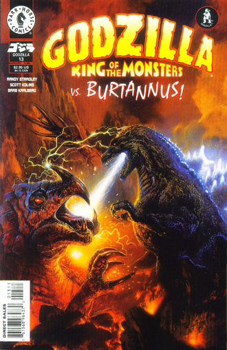 Cover of issue #13 by Bob Eggleton