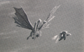 Godzilla vs. Gigan King Ghidorah flying prop.png