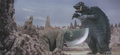 Gamera - 5 - vs Guiron - 36 - Guiron was going to cut Gamera but Gamera dodges it by jumping.png