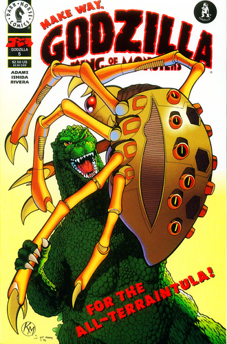 Cover of issue #5 by Arthur Adams and Kevin Maguire
