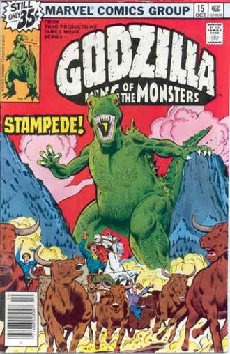 Cover of issue #15 by Herb Trimpe