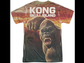 Kong shot sleeved shirt.png