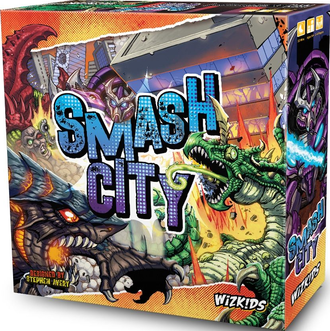 The front cover of Smash City