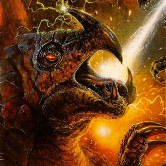 Burtannus in Godzilla, King of the Monsters Issue 13