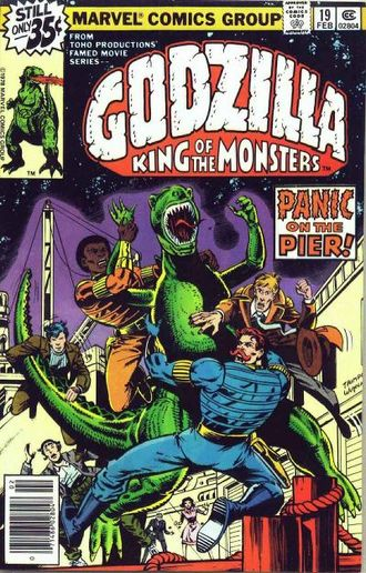 Cover of issue #19 by Herb Trimpe and Bob Wiacek