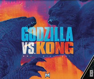 Advertisement for Godzilla vs. Kong from Licensing Expo 2019