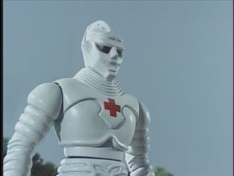 Medical Jet Jaguar in Godzilla Island