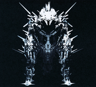 Mechagodzilla render from the GODZILLA anime trilogy