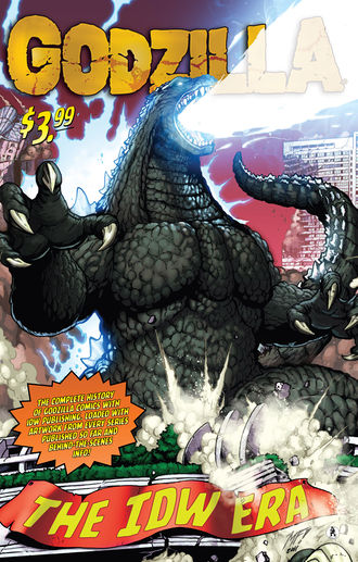 Cover of Godzilla: The IDW Era