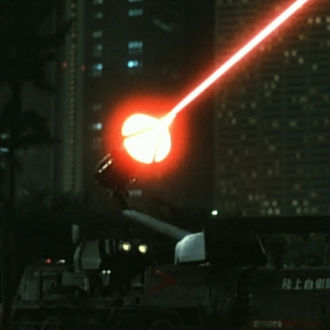 The Hyper Laser Cannon in The Return of Godzilla
