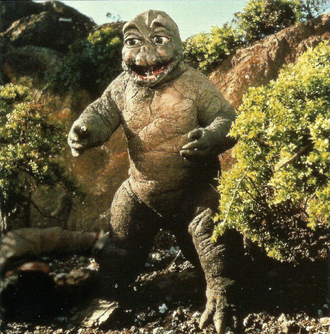 Minilla in Destroy All Monsters