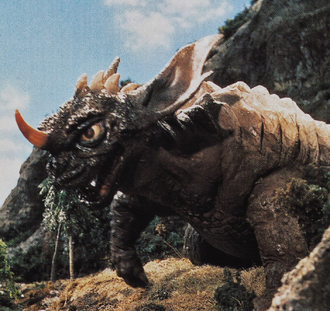 Baragon in Destroy All Monsters