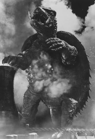 Gamera in his debut film
