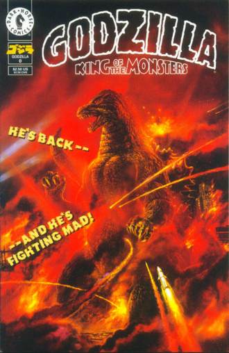 Cover of issue #0 by Bob Eggleton