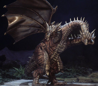 Cretaceous King Ghidorah in Rebirth of Mothra III