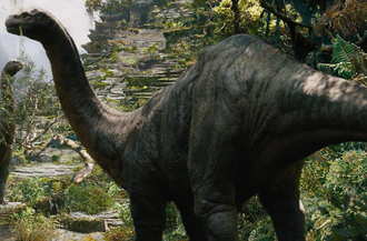 Brontosaurus in King Kong (2005)
