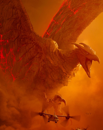 Rodan in Godzilla: King of the Monsters