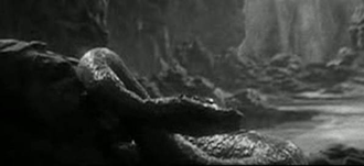 The Elasmosaurus in King Kong (1933)