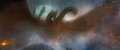GKOTM - King Ghidorah flying down 12.png