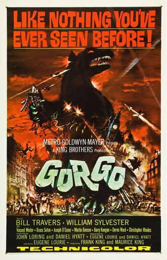 The British poster for Gorgo