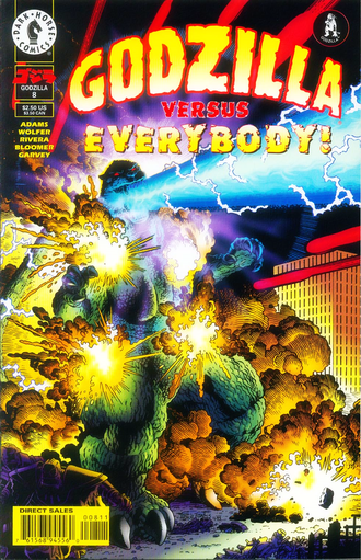Cover of issue #8 by Kevin Maguire