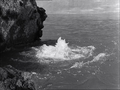 Godzilla Raids Again - 12 - The monsters fighting underwater, causing a spout of bubbling foam.png
