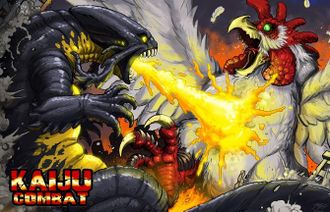 Colossal Kaiju Combat Promotional Poster
