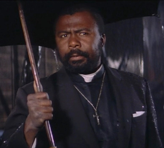 Chico Lourant as a priest in Gate of Flesh (1964)